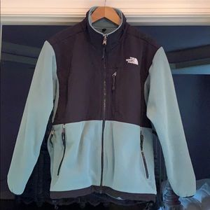 [The North Face] teal Jacket